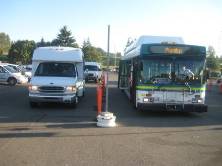 Puyallup Fair bus parking