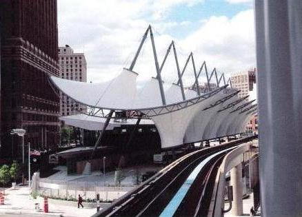 Detroit's Rosa Parks Transit Center