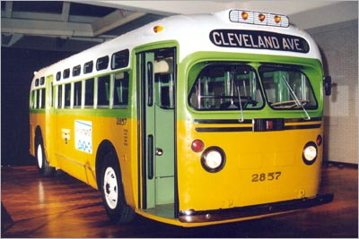 Rosa Parks Bus (source: Montgomery Transit)