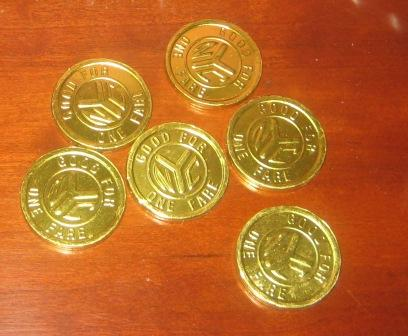 Subway tokens