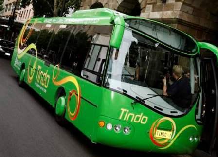 A bus that runs on sun (Source: Inhabitat)