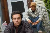 DJ Sabzi and Emcee Geologic, chillin on the porch (photo credit: Gabriel Teodros)