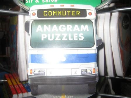Commuter anagram puzzles
