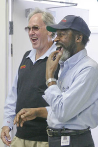 Boehmer and Chappelle: 2007 Operators of the Year (photo credit: King County)