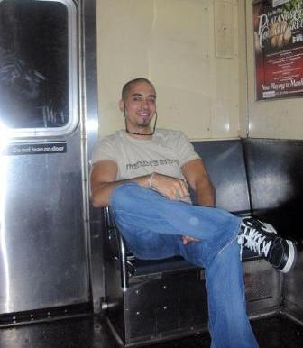 Saulty on the subway