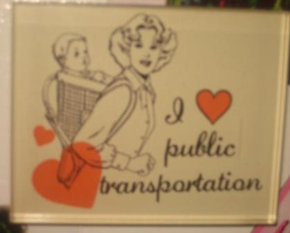 A magnet for bus chicks