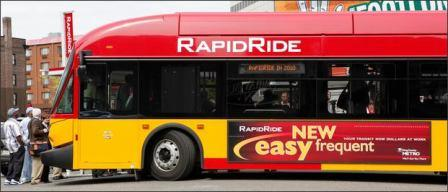 A KC Metro Rapid Ride bus(Photo credit: Seattlepi.com)