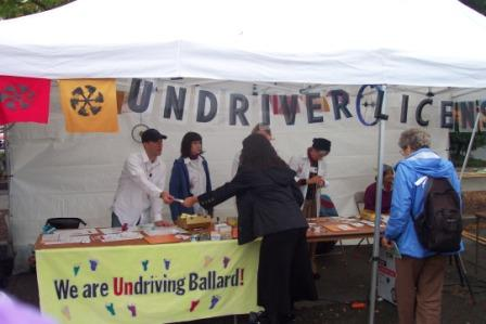 Undriver licensing booth at Sustainable Ballard