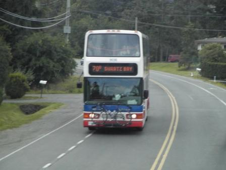 Sidney double-decker bus