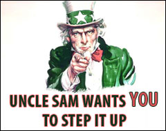 Uncle Sam says...