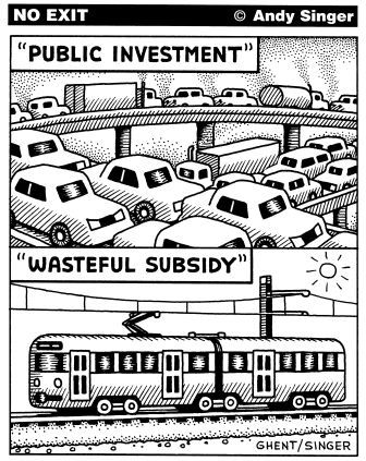 Wasteful subsidy
