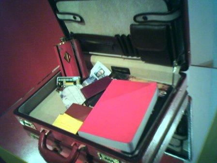 Transitman's briefcase