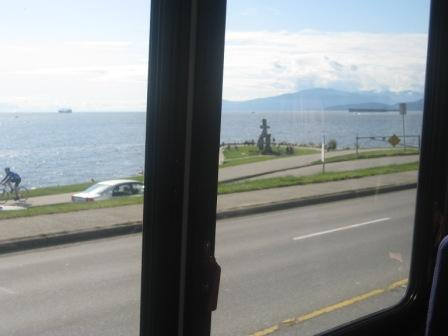 View from Vancouver bus