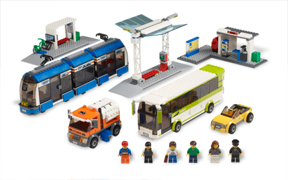 Lego City Transport Station