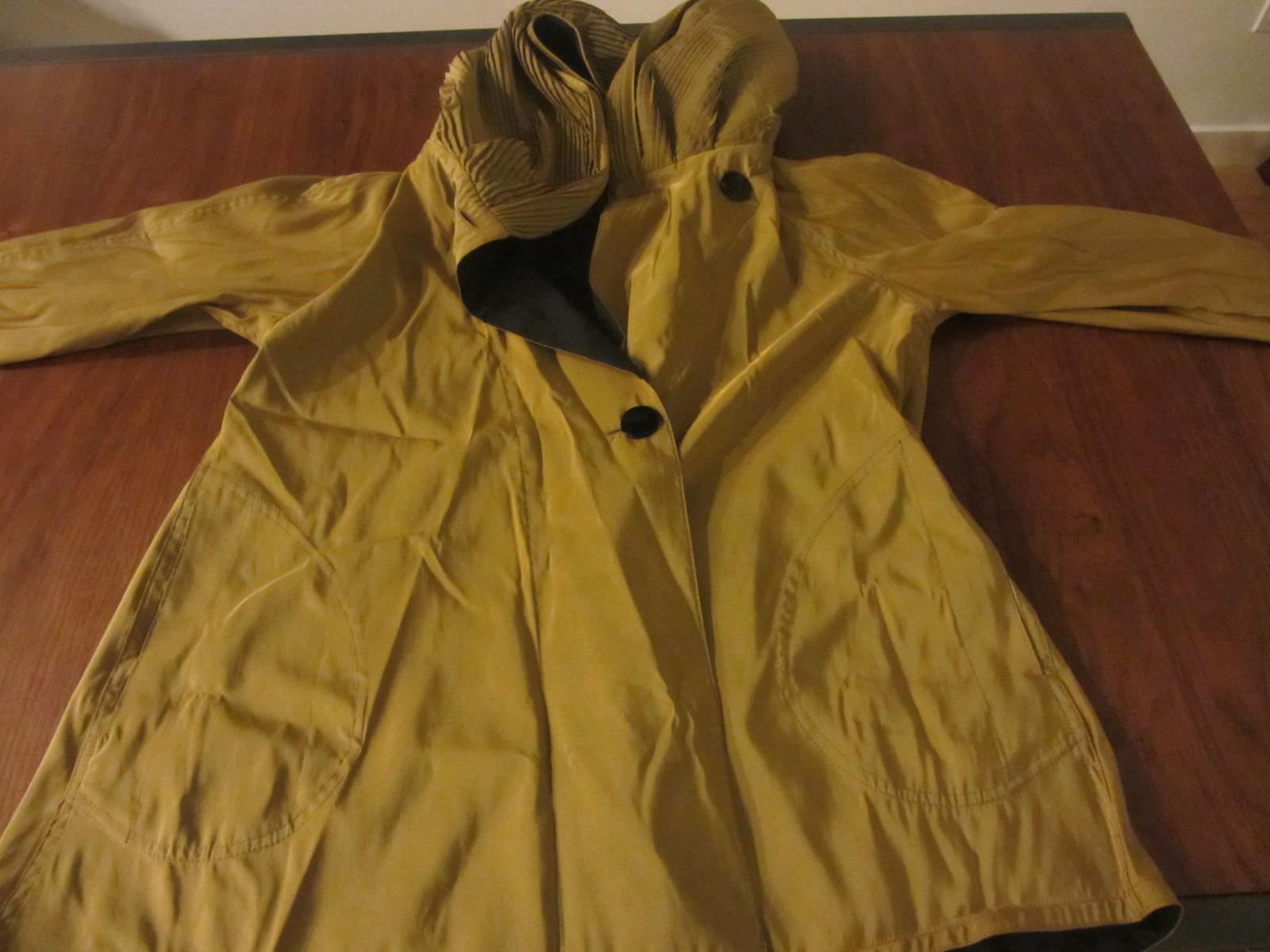 raincoat unfolded