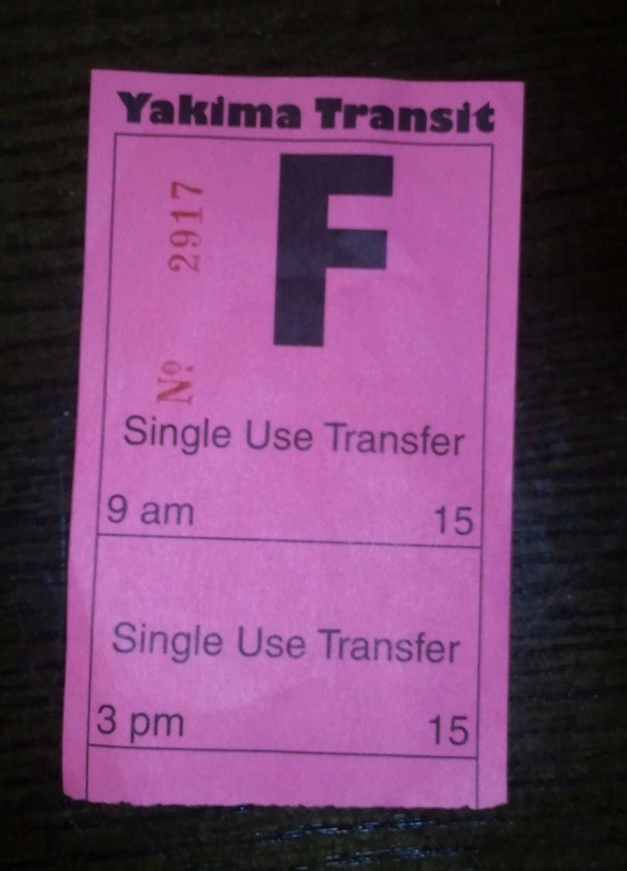 Pink transfer!
