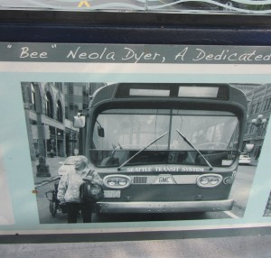 Beulah with a bus