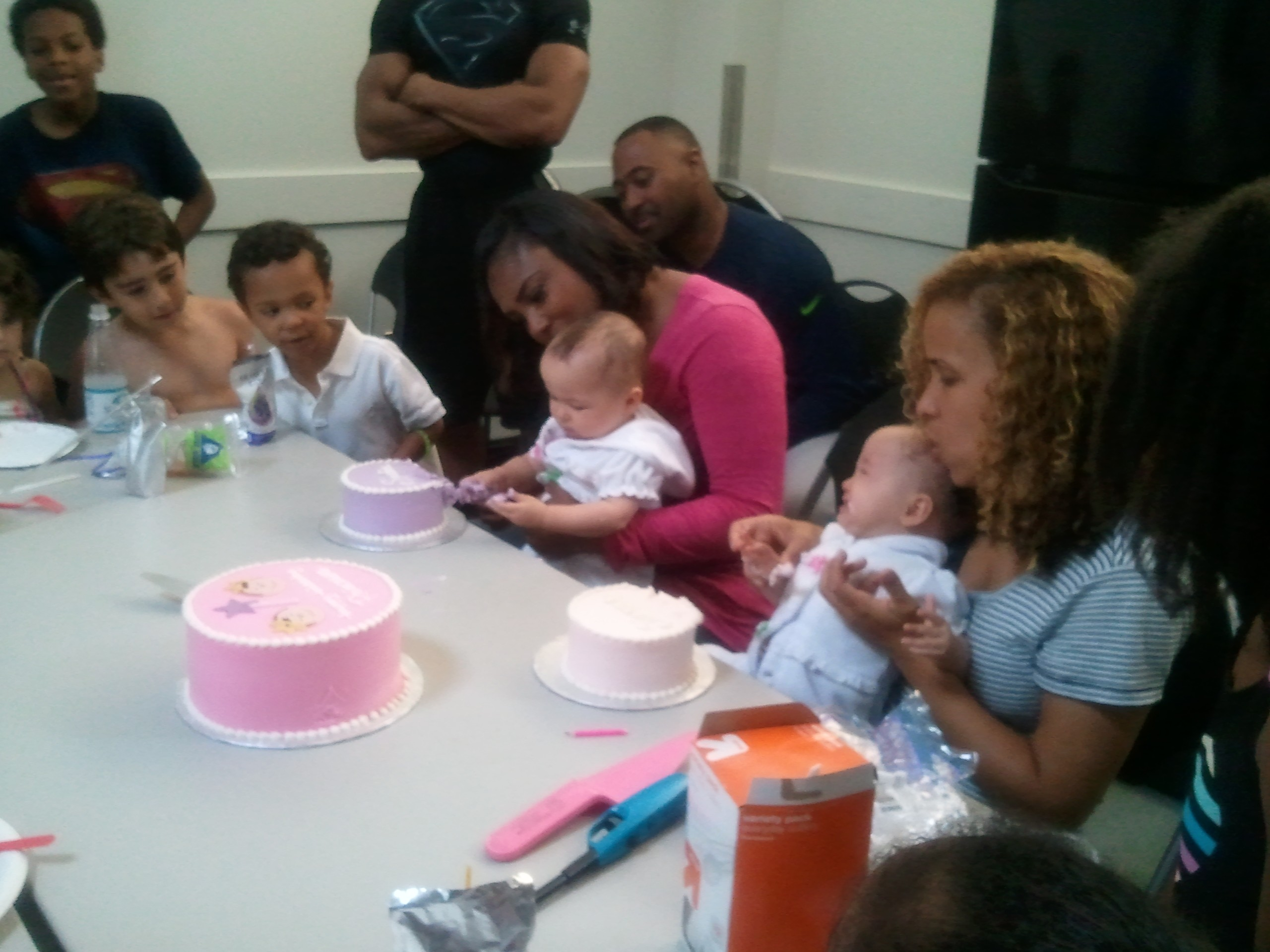 Baby birthday/pool party