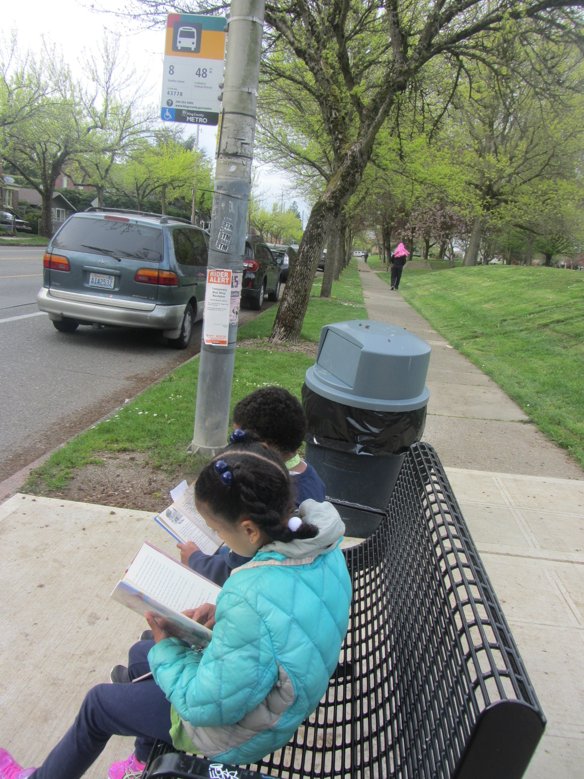 """my ride on the bus essay """"that little blue and white bus across the street  my access-a-ride driver, a  skinny older black man with glasses and a graying beard, exited the  an  unapologetic plea for your help funding more personal essays."""