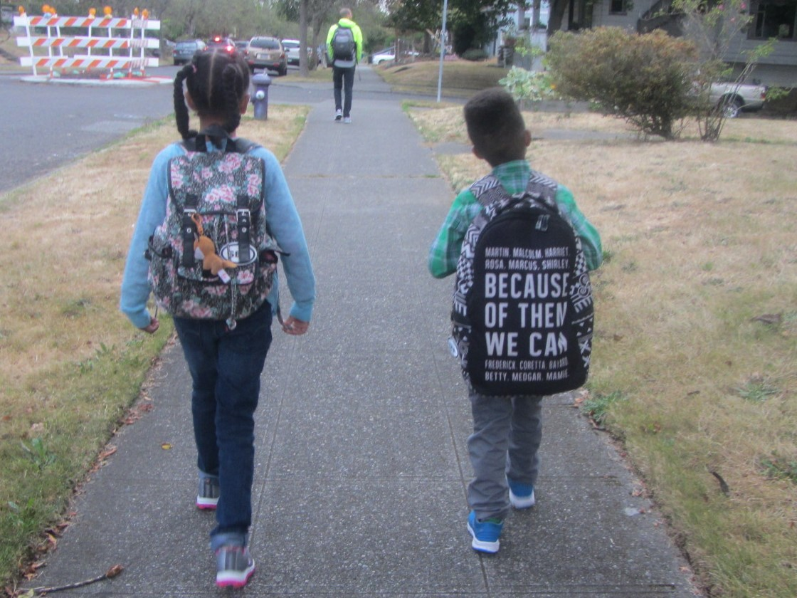 C and B, heading into a new school year